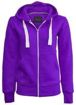 Hai Le Vogue Ladies Girl NEW PLUS SIZE Zip Up Sweatshirt Hooded Hoodie Coat Jacket Top S-5XL