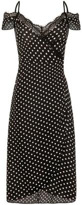 Little Mistress Polka Dot Dress