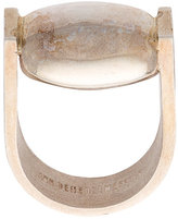Ann Demeulemeester burnished ring
