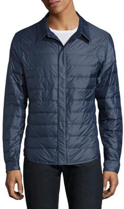 Canada Goose Roxton Nylon Water-Resistant Shirt Black Label