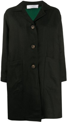 Societe Anonyme Button Down Boxy Fit Coat