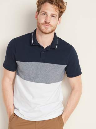 Old Navy Moisture-Wicking Color-Block Pro Polo for Men