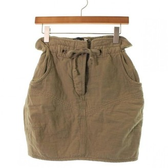 Isabel Marant Green Cotton Skirt for Women