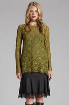 Gold Hawk Flounce Skirt