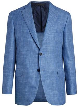 Brioni Textured Wool-Blend Suit Jacket