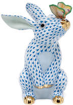 Herend Bunny with Butterfly