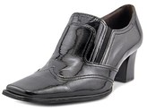 Gabor 75.348 Women Square Toe Patent Leather Black Heels.