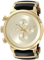 Vestal Unisex METCA08 Metronome Analog Display Quartz Gold Watch