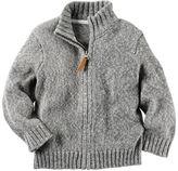 Carter's Zip-Front Sweater