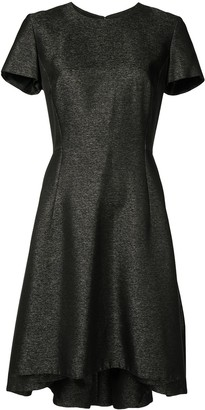 Christian Dior Pre-Owned Metallic Flared Dress