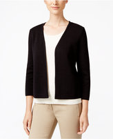 Charter Club Open-Front Cardigan, Only at Macy's