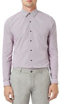Topman Men's Micro Dot Pattern Shirt