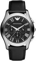 Emporio Armani Armani AR1700 44mm Stainless Steel Case Leather Mineral Men's Watch