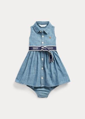 Ralph Lauren Dress, Belt & Bloomer
