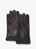 John Varvatos Deer Skin Leather Gloves