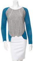 Helmut Lang ColorBlock Knitted Sweater