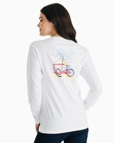 Southern Tide Ice Cream Cart Long Sleeve T-Shirt