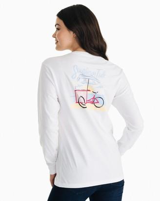 Southern Tide Ice Cream Cart Long Sleeve T-Shirt