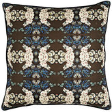 Patch NYC Nosegay-Pattern Cotton-Linen Pillow-BLUE