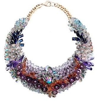 Swarovski Ken Samudio Crystals & Plastic Necklace