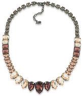 A.B.S. By Allen Schwartz Black Magic Crystal Collar Necklace