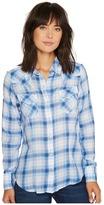 Stetson 1070 Skye Plaid Long Sleeve Western Shirt Women's Clothing