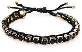 Tory Burch Swarovski Crystal Macramé Bracelet