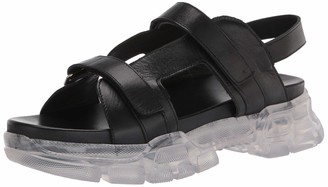 Aquatalia Darby Clear Lug Sole Sandal