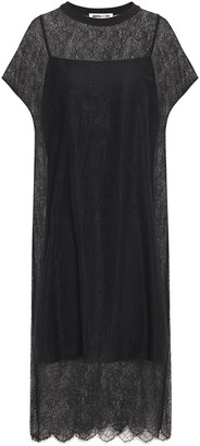 McQ Chantilly Lace Midi Dress