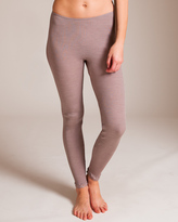 Oscalito Wool/Silk with Leavers Lace Legging