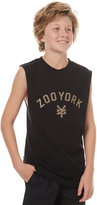 Zoo York Kids Boys Slate Muscle Black