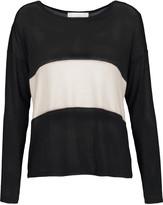 Kain Label Mata two-tone stretch-knit sweater