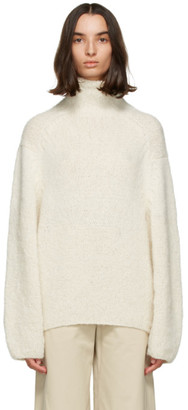 Julia Jentzsch Beige Oversized Yuna Alpaca Sweater