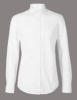 Autograph Pure Cotton Slim Fit Shirt