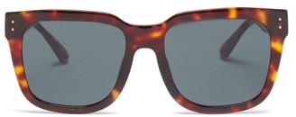 Linda Farrow Freya Tortoiseshell-acetate Sunglasses - Tortoiseshell