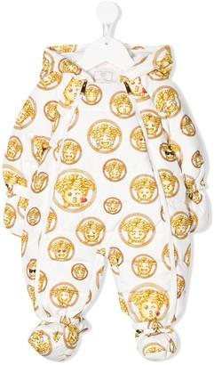 Versace Medusa emoji snowsuit