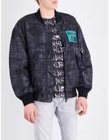 Diesel J-prince-ed Shell Bomber Jacket