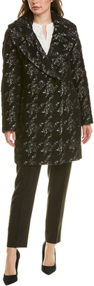 Elie Tahari Shiloh Wool & Alpaca-Blend Coat