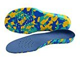 ROSENICE Orthopedic Insoles Kids Insoles Pair of Comfortable EVA Foam Arch Support Inserts for Plantar Fasciitis - Size S