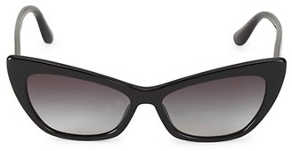 Dolce & Gabbana 56MM Cat Eye Sunglasses