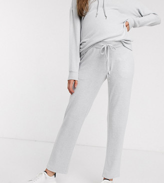 Mama Licious Mama.Licious Mamalicious maternity soft touch jersey lounge pants-Grey