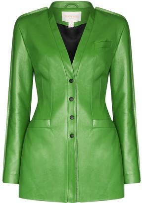 MATÉRIEL Fitted Blazer Jacket