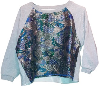 Gaelle Bonheur Multicolour Cotton Top for Women