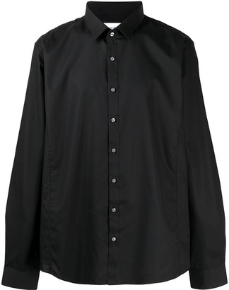 Calvin Klein Extra-slim pointed collar shirt