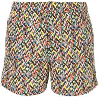 Missoni patterned swim shorts
