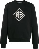 Dolce & Gabbana logo crew neck sweatshirt