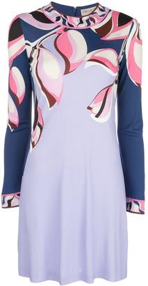 Emilio Pucci peony print dress