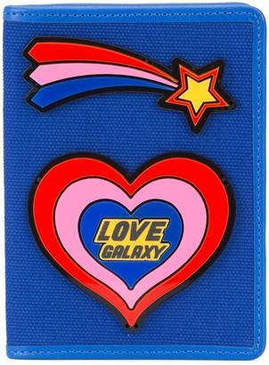 Yazbukey heart passport holder