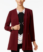 Alfani Petite Open-Front Blazer, Only at Macy's