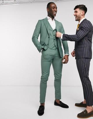 Gianni Feraud Tall skinny fit suit vest